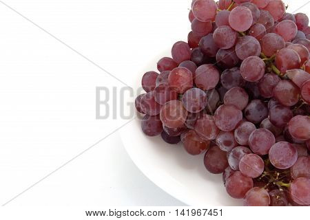 This sweet Delaware grapes is cultivated in Japan.