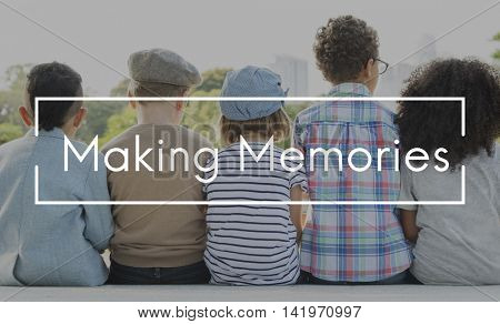 Memories Mind Remember Data Storage Recalling Concept