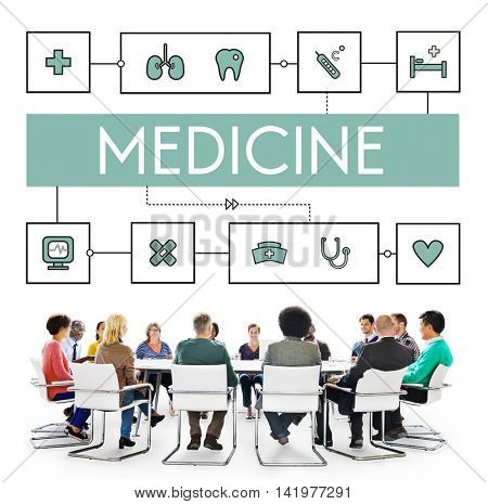 Health Cure Medicine Medical Wellness Concept