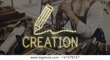 Furnituries Worktools Manufacturing Equipment Concept