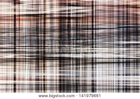 abstract brown patterns of plaid for the design background.