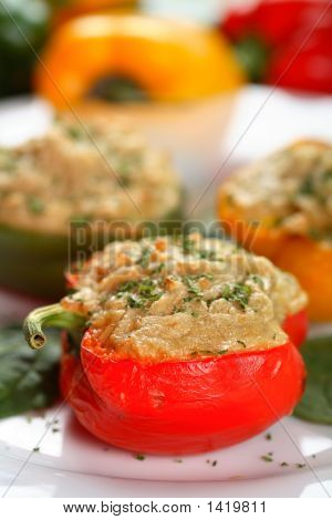 Colorful Stuffed Peppers