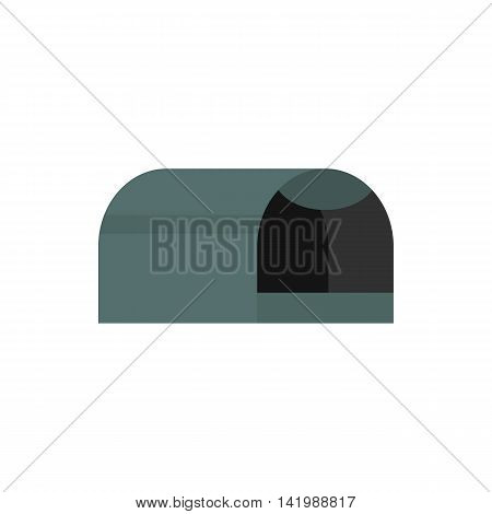 Animals cage icon in flat style on a white background