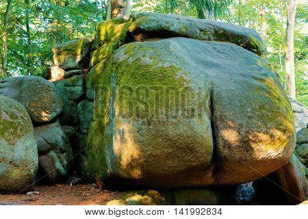 Rock Formation Devil Ass, Czech Canada