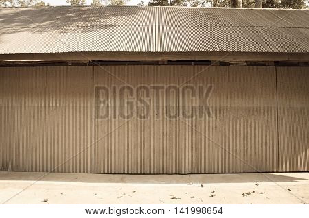 Roller shutter garage door, roller shutter background