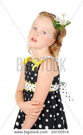 Little Girl In Black