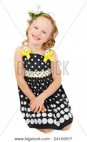 Pretty Little Girl In Black