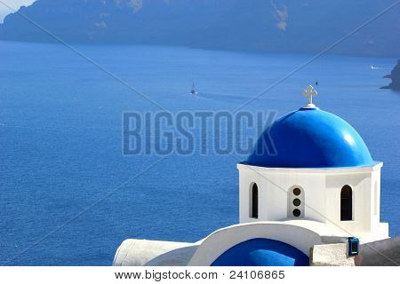Santorini church (Firostefani)