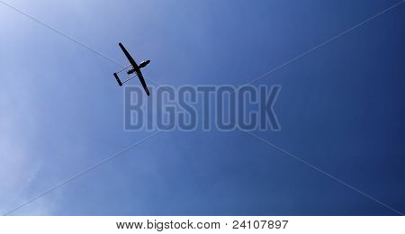 Drone Aircraft Empty Ble Graduated Sky