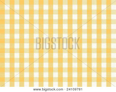 Checkered Yellow Seamless