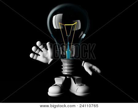 mister incandescent bulb