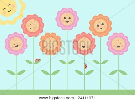 Smiling Flowers