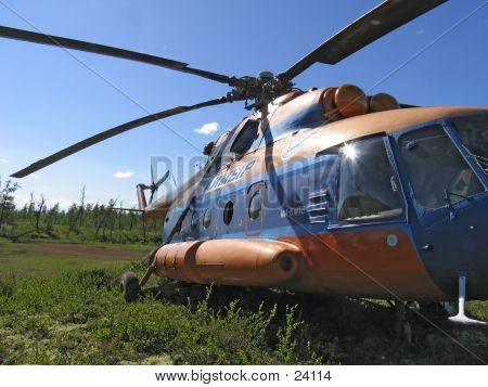 Helicopter MI-8 MT.