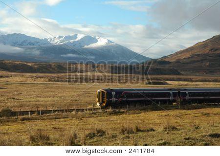 A Train, Scotland.