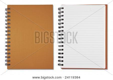 Brown Note Book