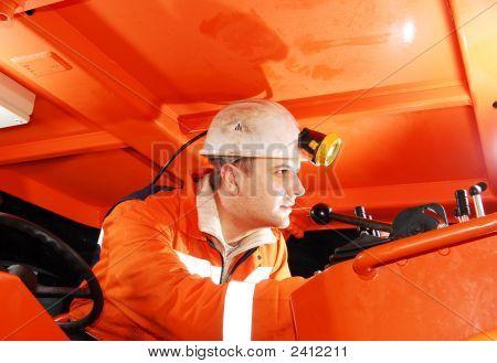 Modern Miner Working