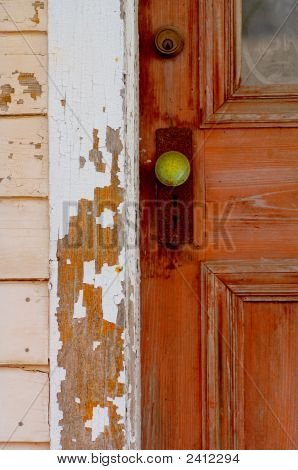 The Green Door Handle