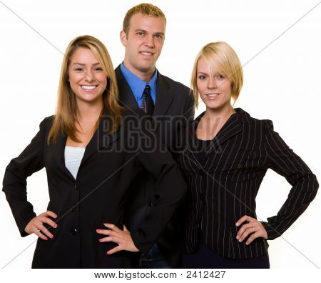 Smiling Business Team
