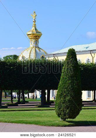 Vista de Peterhof, São Petersburgo