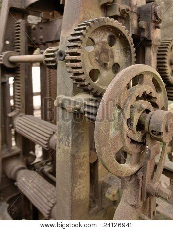 Rusty Machine Detail