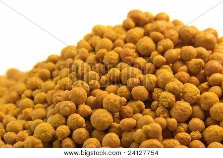 Orange Ferric Chloride Balls