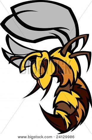 Bee Hornet Graphic