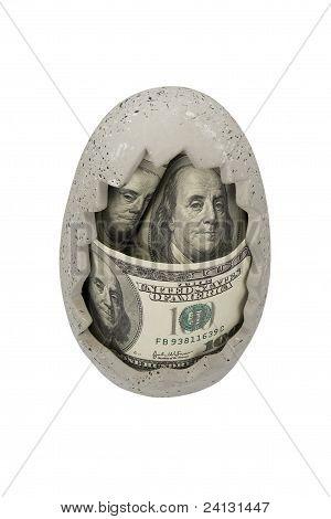 Money in moneybox