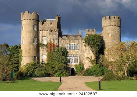Malahide Castle Autumn