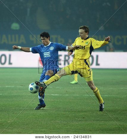 Metalist Vs Dnipro Soccer Match