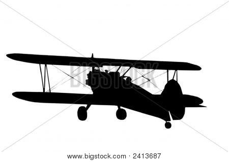 Silhouette Airplane