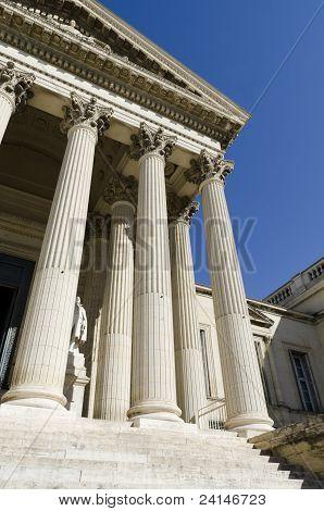 Teil des Gerichtsgebäudes
