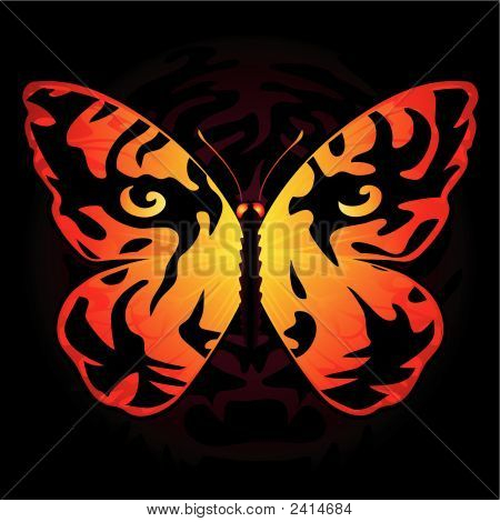 Tiger_Butterfly.Eps