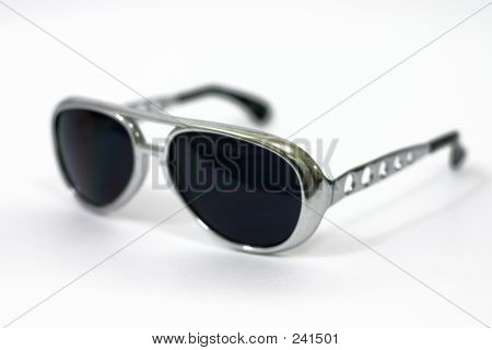 Gafas de sol profundidad de campo