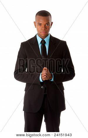 Homem de executivo de negócios corporativos