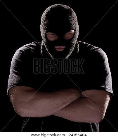 Burglar In Mask