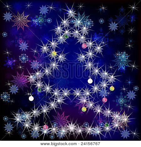Holidays winter background