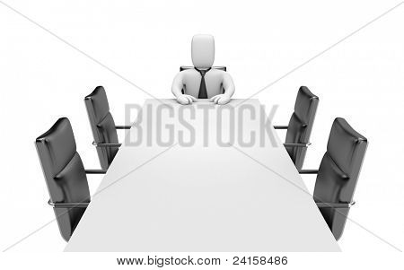 Boss. Image contain clipping path