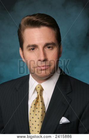 Professional Businessman In Formal Suit And Tie