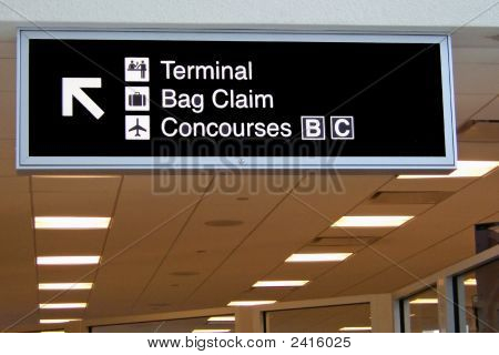 Airport Sign