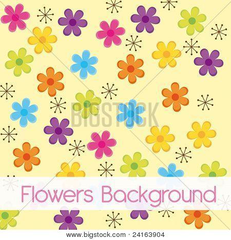 Vectores y fotos en stock de dibujos animados de flores | Bigstock