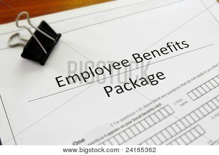 paquete de beneficios