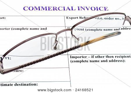 Form Of Commercial Invoice
