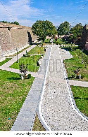 Alba Carolina Fortress-cetatea De La Alba Iulia