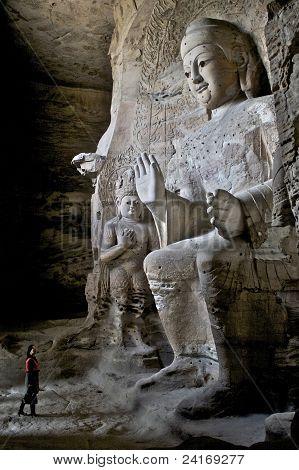 Yungang Grottoes - Shanxi, China