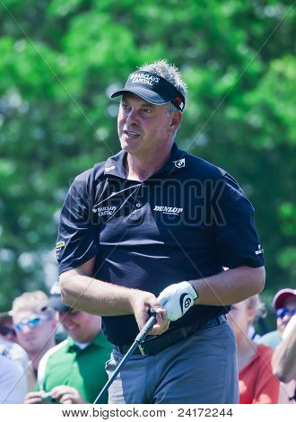 Darren Clarke At The 2009 US Open.