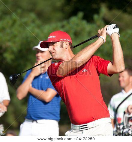 Dustin Johnson At The 2011 US Open.