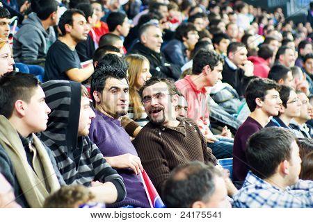Fans tribune