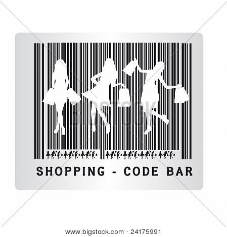 shopping bar code