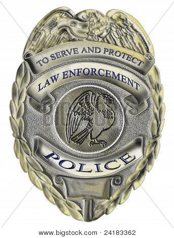 police sheriff law enforcement badge