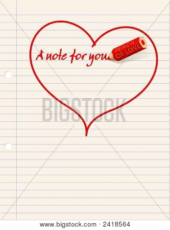 A Love Note ...